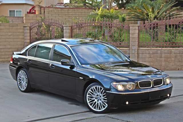 "2002 BMW 745Li SPORTS PKG AUTOMATIC NAVIGATION BLACK ON BLACK 19"" ALLOY WHLS SERVICE RECORDS! Woodland Hills, CA 11"
