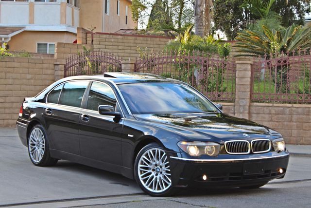 "2002 BMW 745Li SPORTS PKG AUTOMATIC NAVIGATION BLACK ON BLACK 19"" ALLOY WHLS SERVICE RECORDS! Woodland Hills, CA 12"
