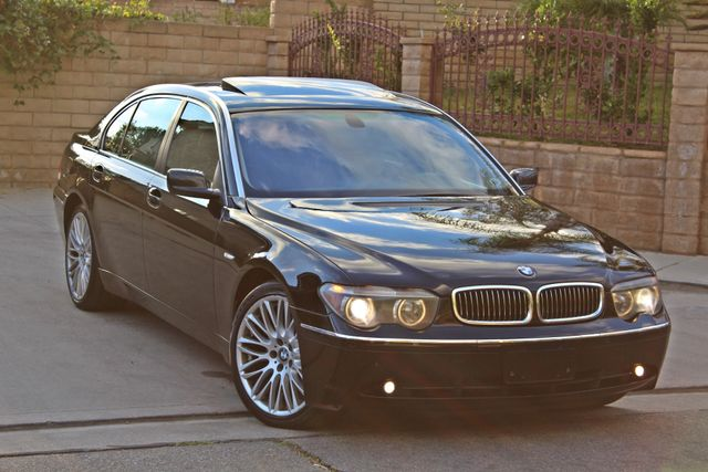 "2002 BMW 745Li SPORTS PKG AUTOMATIC NAVIGATION BLACK ON BLACK 19"" ALLOY WHLS SERVICE RECORDS! Woodland Hills, CA 35"