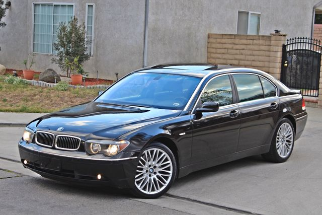 "2002 BMW 745Li SPORTS PKG AUTOMATIC NAVIGATION BLACK ON BLACK 19"" ALLOY WHLS SERVICE RECORDS! Woodland Hills, CA 13"