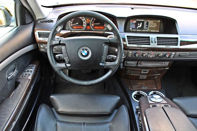 "2002 BMW 745Li SPORTS PKG AUTOMATIC NAVIGATION BLACK ON BLACK 19"" ALLOY WHLS SERVICE RECORDS! Woodland Hills, CA 27"