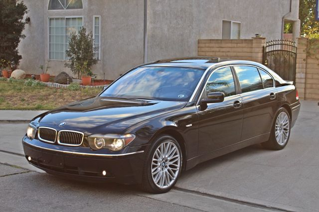 "2002 BMW 745Li SPORTS PKG AUTOMATIC NAVIGATION BLACK ON BLACK 19"" ALLOY WHLS SERVICE RECORDS! Woodland Hills, CA 36"