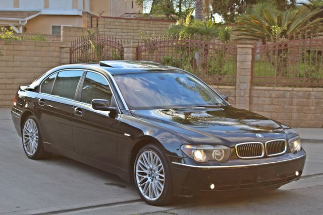 "2002 BMW 745Li SPORTS PKG AUTOMATIC NAVIGATION BLACK ON BLACK 19"" ALLOY WHLS SERVICE RECORDS! Woodland Hills, CA 34"