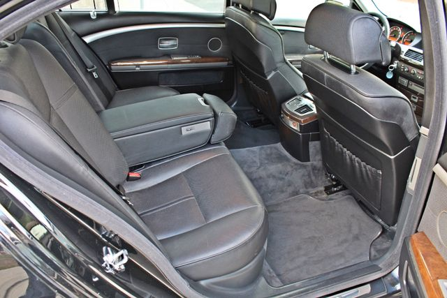 "2002 BMW 745Li SPORTS PKG AUTOMATIC NAVIGATION BLACK ON BLACK 19"" ALLOY WHLS SERVICE RECORDS! Woodland Hills, CA 30"