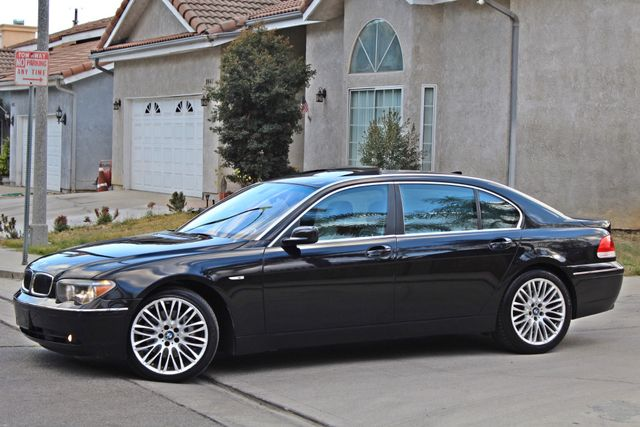 "2002 BMW 745Li SPORTS PKG AUTOMATIC NAVIGATION BLACK ON BLACK 19"" ALLOY WHLS SERVICE RECORDS! Woodland Hills, CA 3"
