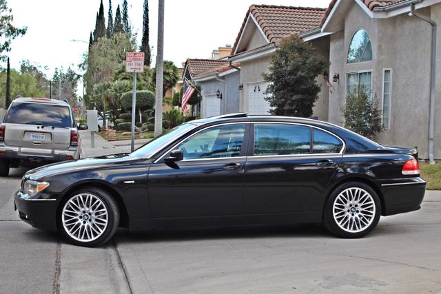 "2002 BMW 745Li SPORTS PKG AUTOMATIC NAVIGATION BLACK ON BLACK 19"" ALLOY WHLS SERVICE RECORDS! Woodland Hills, CA 4"