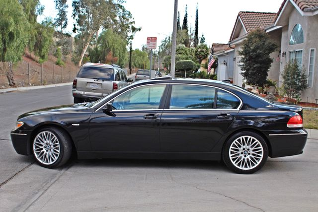 "2002 BMW 745Li SPORTS PKG AUTOMATIC NAVIGATION BLACK ON BLACK 19"" ALLOY WHLS SERVICE RECORDS! Woodland Hills, CA 5"
