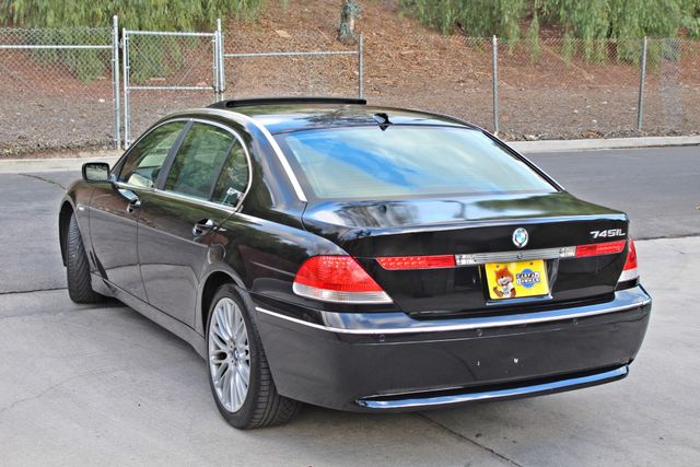"2002 BMW 745Li SPORTS PKG AUTOMATIC NAVIGATION BLACK ON BLACK 19"" ALLOY WHLS SERVICE RECORDS! Woodland Hills, CA 6"