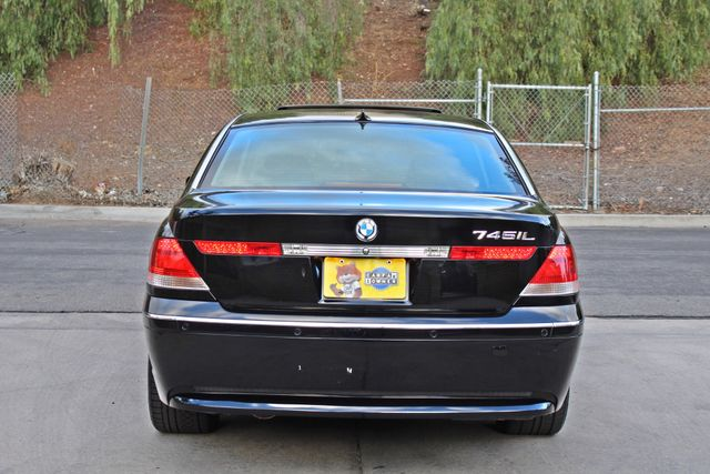 "2002 BMW 745Li SPORTS PKG AUTOMATIC NAVIGATION BLACK ON BLACK 19"" ALLOY WHLS SERVICE RECORDS! Woodland Hills, CA 7"
