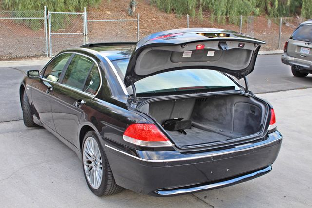 "2002 BMW 745Li SPORTS PKG AUTOMATIC NAVIGATION BLACK ON BLACK 19"" ALLOY WHLS SERVICE RECORDS! Woodland Hills, CA 15"