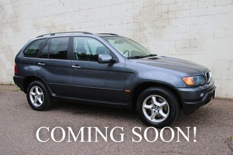 2002 BMW X5 3.0i AWD Luxury SUV w/Cold Weather Pkg, Premium Pkg, Moonroof & Tow Pkg in Eau Claire
