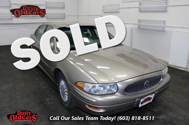 2002 Buick LeSabre Custom Runs Drives Body Inter VGood 3.8LV6 4 spd auto in Nashua NH