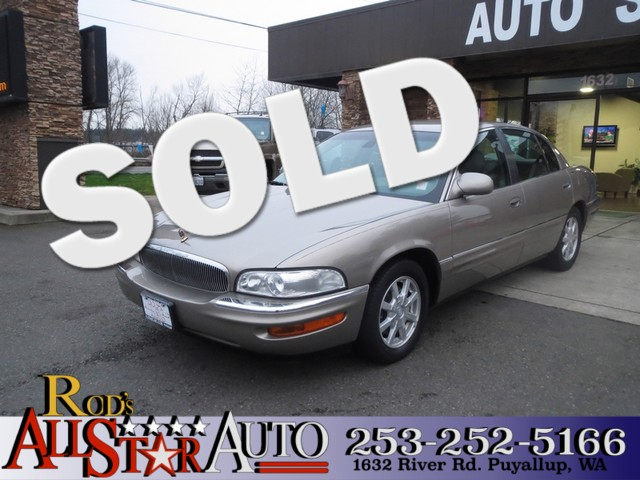 2002 Buick Park Avenue The CARFAX Buy Back Guarantee that comes with this vehicle means that you c