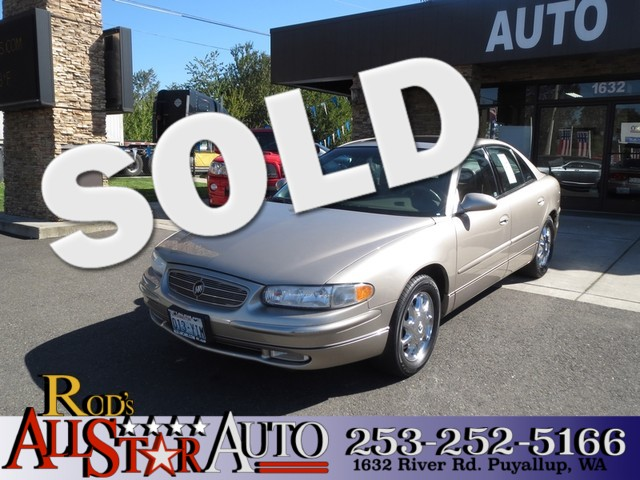 2002 Buick Regal LS The CARFAX Buy Back Guarantee that comes with this vehicle means that you can