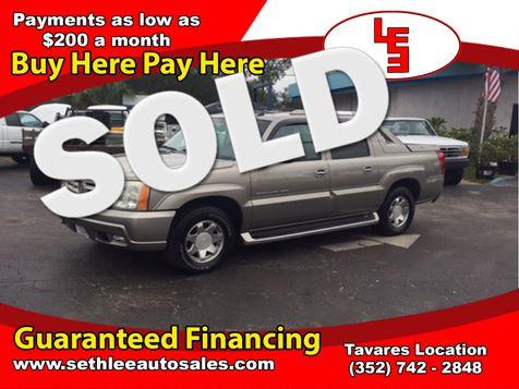 2002 Cadillac Escalade EXT  in Tavares, FL