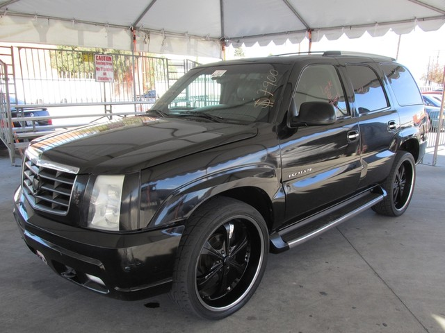 2002 Cadillac Escalade Please call or e-mail to check availability All of our vehicles are avail