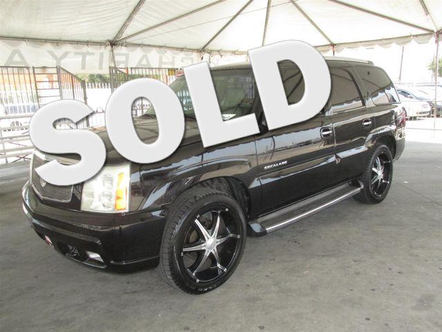 2002 Cadillac Escalade This particular Vehicle comes with 3rd Row Seat Please call or e-mail to c
