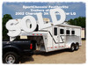 2002 Cherokee Invasion 3 HORSE GN 3 HORSE w/ LIVING QUARTER CONROE, TX