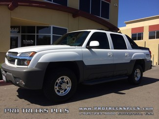 Avalanche 4x4 Chevrolet Chevy 2002 LT 2500 8100./ 4.10 Gears Whipple Supercharger  in Livermore California