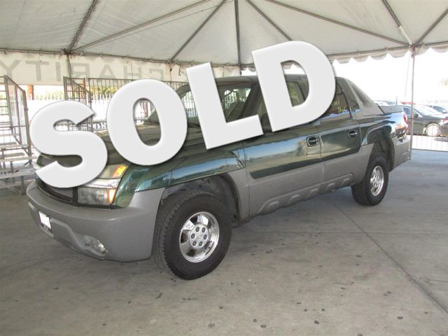 2002 Chevrolet Avalanche Please call or e-mail to check availability All of our vehicles are av