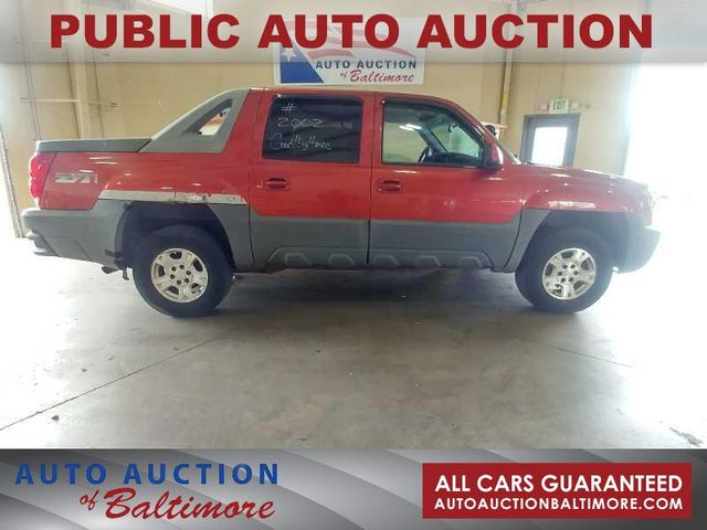 2002 Chevrolet Avalanche | JOPPA, MD | Auto Auction of ...