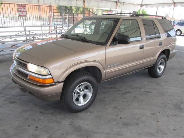 2002 Chevrolet Blazer LS Please call or e-mail to check availability All of our vehicles are av