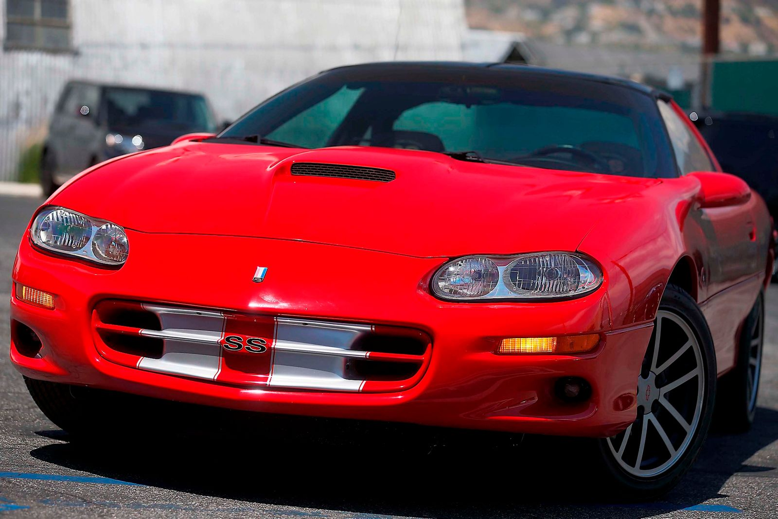 2002 chevrolet camaro z28 - ss - 35th anniversary edition city