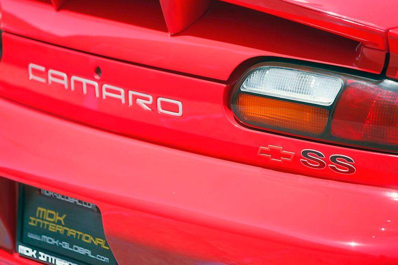 2002 Chevrolet Camaro Z28 - SS - 35th anniversary edition  city California  MDK International  in Los Angeles, California