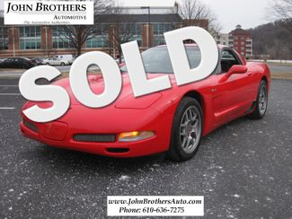 2002 Sold Chevrolet Corvette Z06 Conshohocken, Pennsylvania
