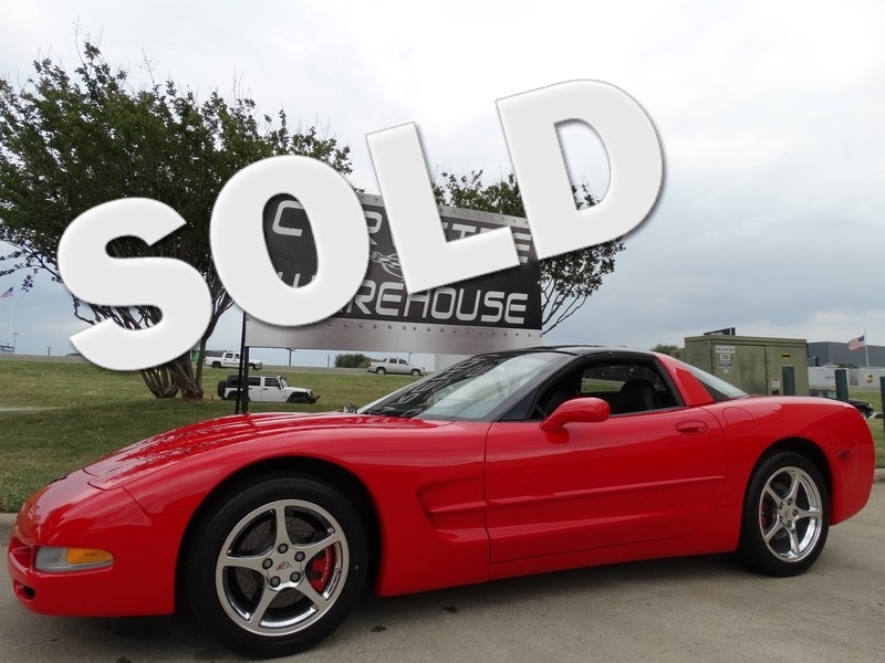2002 Chevrolet Corvette Coupe HUD, Auto, Glass Top, Polished Wheels 49k!