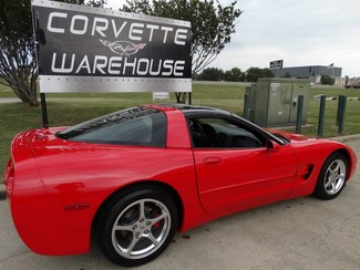 2002 Chevrolet Corvette Coupe HUD, Auto, Glass Top, Polished Wheels 49k! in Dallas, Texas