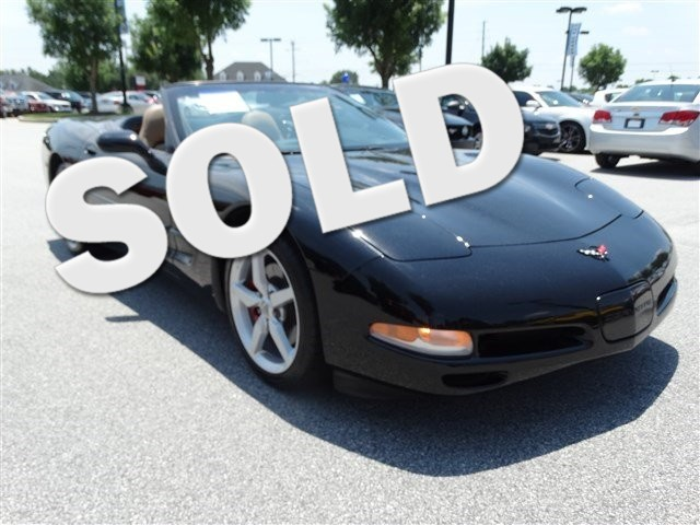 2002 Chevrolet Corvette Convertible Automatic trans OUR SHOP WENT COMPLETELY THROUGH THIS CORVETT