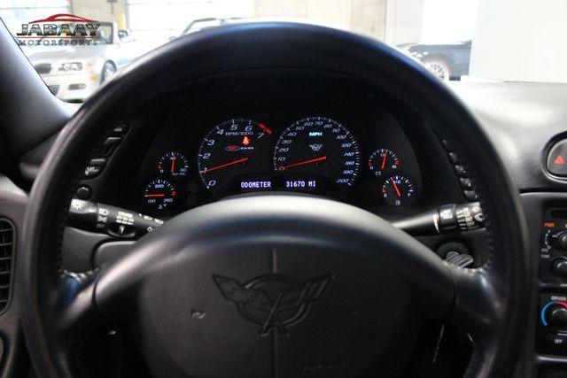 2002 Chevrolet Corvette Z06 Merrillville, Indiana 16