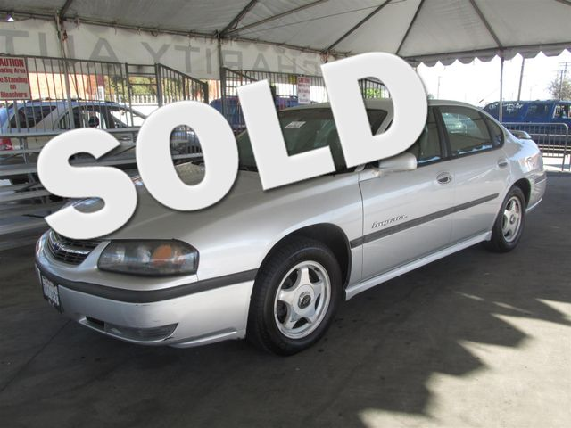 2002 Chevrolet Impala LS Please call or e-mail to check availability All of our vehicles are av