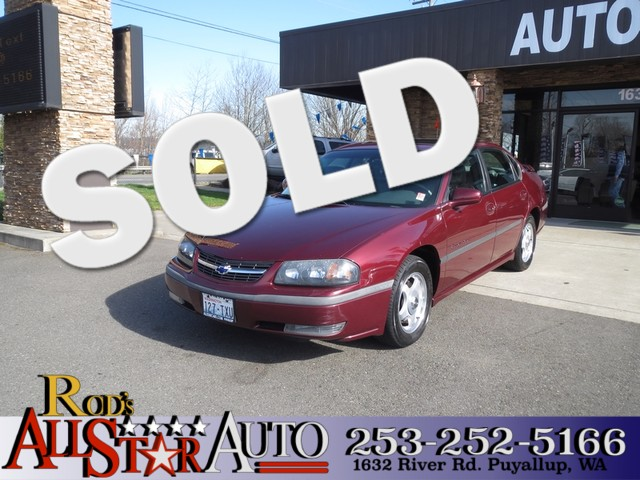 2002 Chevrolet Impala LS The CARFAX Buy Back Guarantee that comes with this vehicle means that you