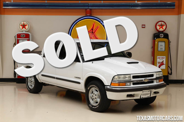 2002 Chevrolet S-10 LS Financing is available with rates as low as 29 wac Get pre-approved in
