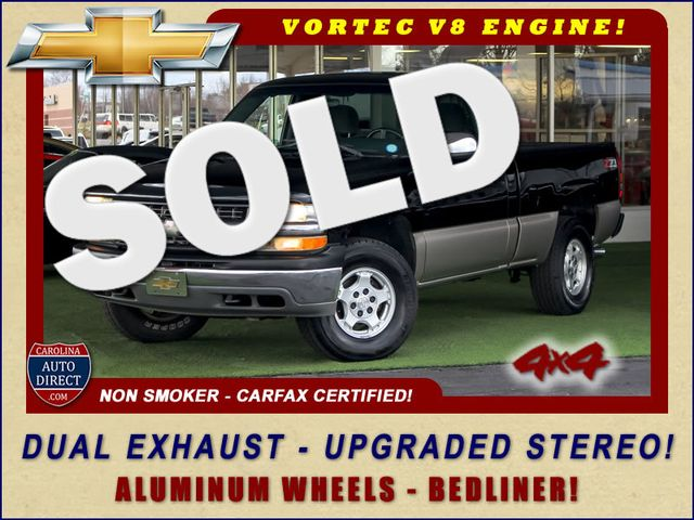 2002 Chevrolet Silverado 1500 LS Reg Cab 4x4 - DUAL EXHAUST - UPGRADED STEREO! Mooresville , NC 0