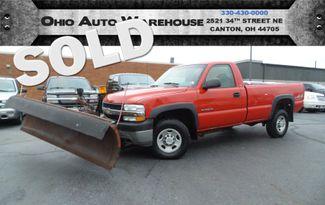 2002 Chevrolet Silverado 2500HD 4x4 Plow Truck 1-Owner Cln Carfax We Finance | Canton, Ohio | Ohio Auto Warehouse LLC in  Ohio