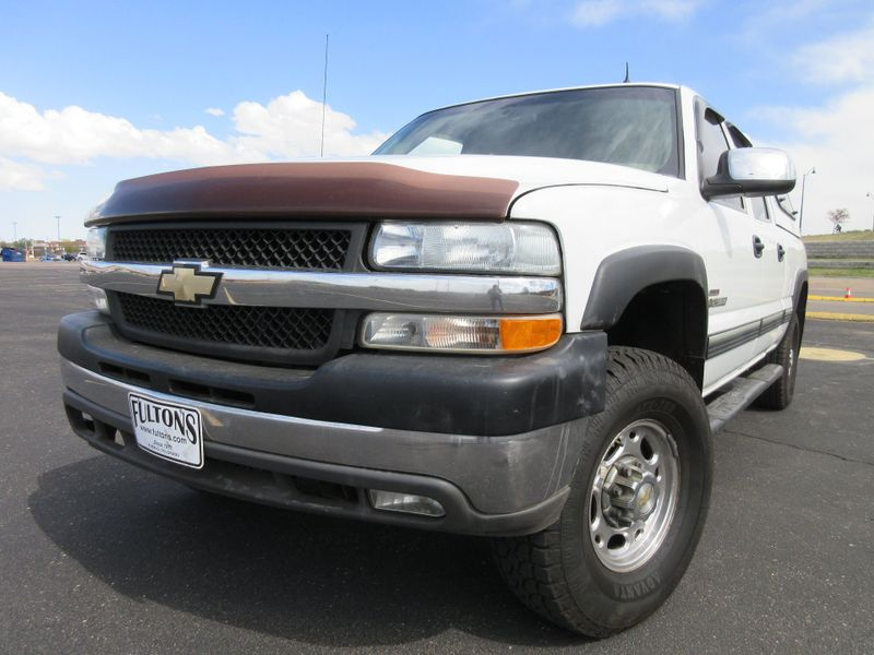 2002 Chevrolet Silverado 2500HD Crew Cab LT 4X4 Duramax  Fultons Used Cars Inc  in , Colorado
