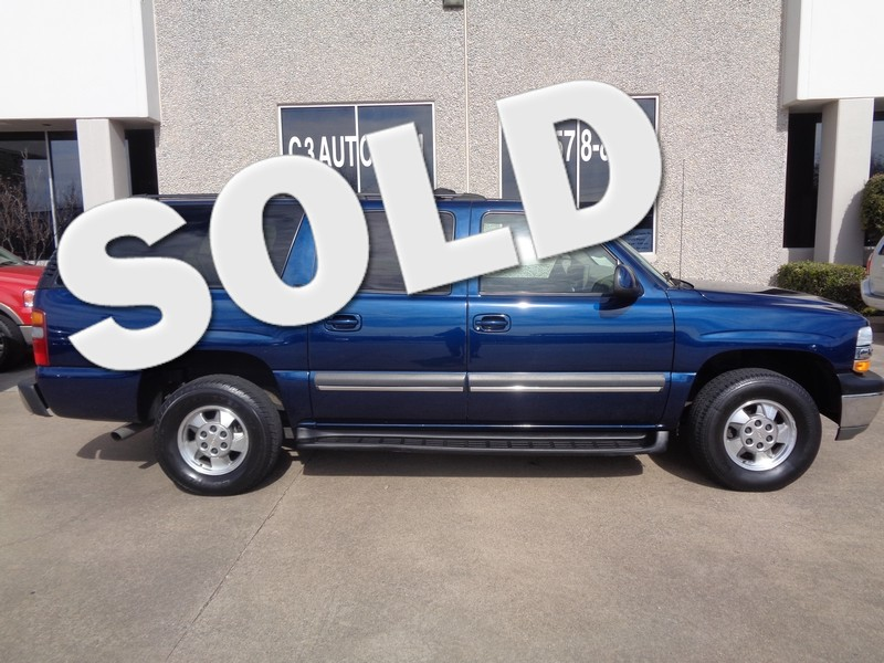 2002 Chevrolet Suburban LT in Plano Texas