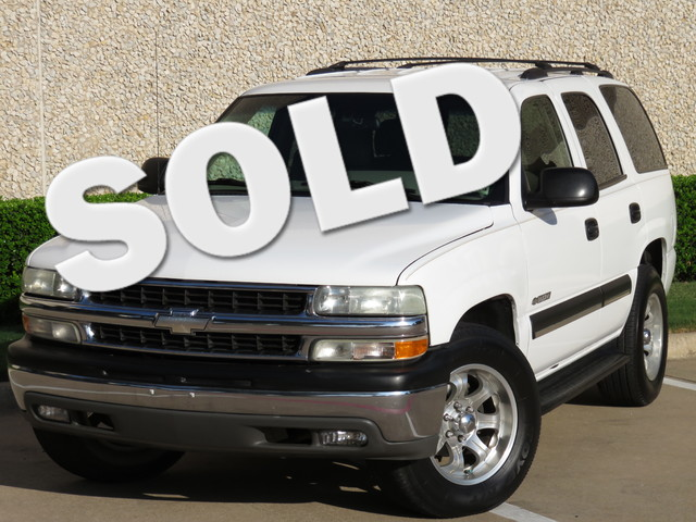 2002 Chevrolet Tahoe LS LEATHER 3RD EXCELLENT CONDITION AND EQUIPMENT The condition of this Tahoe