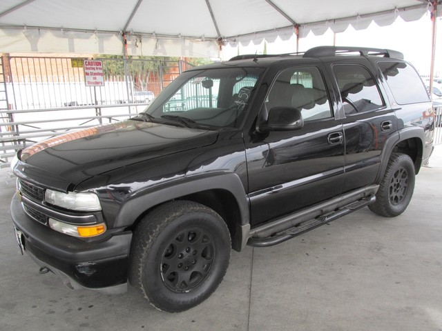 2002 Chevrolet Tahoe Z71 Please call or e-mail to check availability All of our vehicles are ava