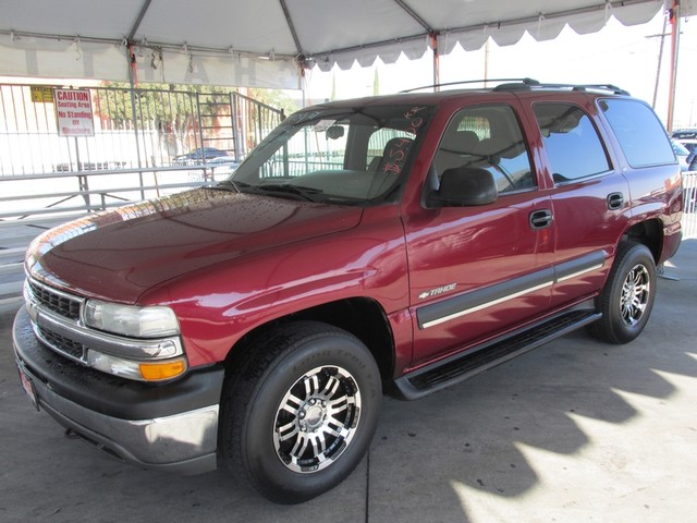 2002 Chevrolet Tahoe LS Please call or e-mail to check availability All of our vehicles are avai