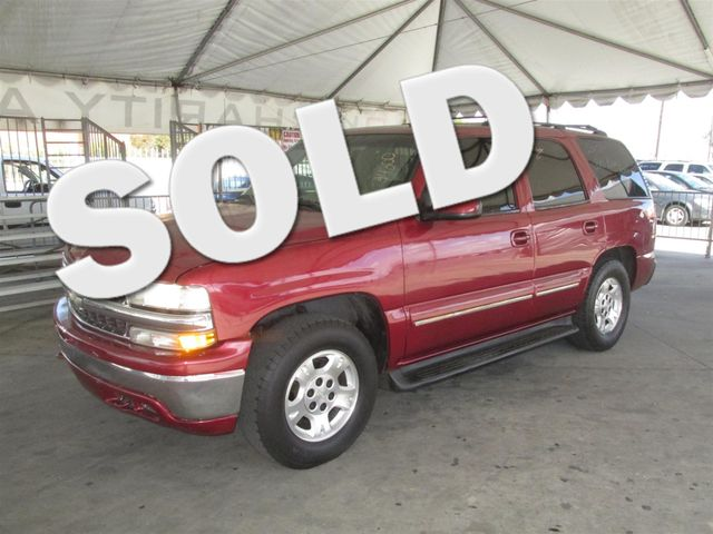 2002 Chevrolet Tahoe LT This particular vehicle has a SALVAGE title Please call or email to check