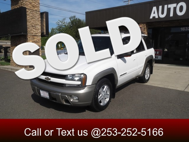 2002 Chevrolet TrailBlazer LTZ 4WD The CARFAX Buy Back Guarantee that comes with this vehicle mean