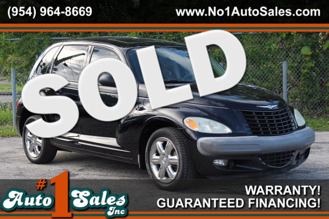 2002 Chrysler PT Cruiser Limited  WARRANTY CARFAX CERTIFIED 2 OWNERS 16 SERVICE RECORDS FLO