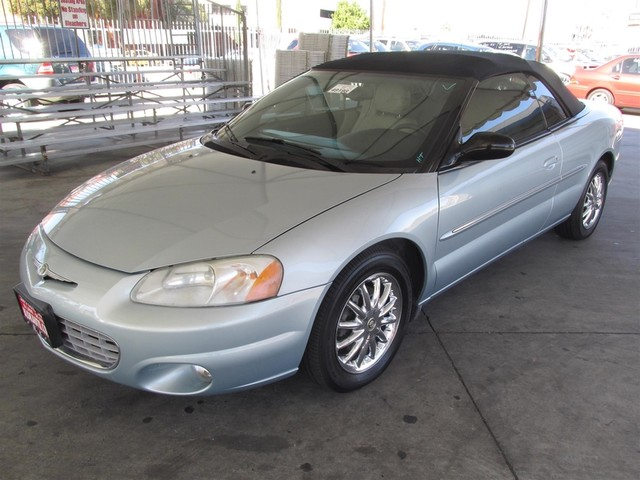 2002 Chrysler Sebring Limited Please call or e-mail to check availability All of our vehicles a