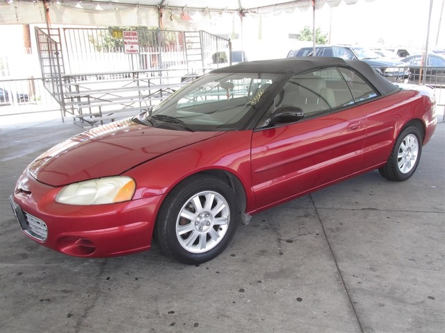 2002 Chrysler Sebring GTC Please call or e-mail to check availability All of our vehicles are a