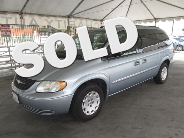 2002 Chrysler Town  Country LX This particular Vehicle comes with 3rd Row Seat Please call or e-