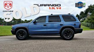 2002 Dodge Durango CLEAN CARFAX LOW MILES SLT Plus SEATS 7   Palmetto, FL   EA Motorsports in Palmetto FL